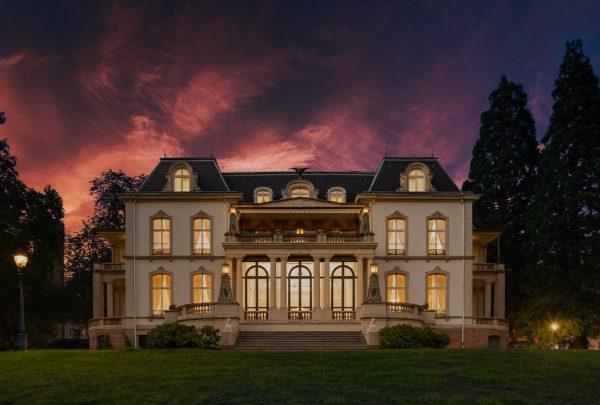 Architekturfotografie des Palais Biron in Baden-Baden © Fotograf Torben Beeg